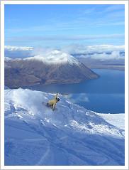 Snowboarding Wanaka